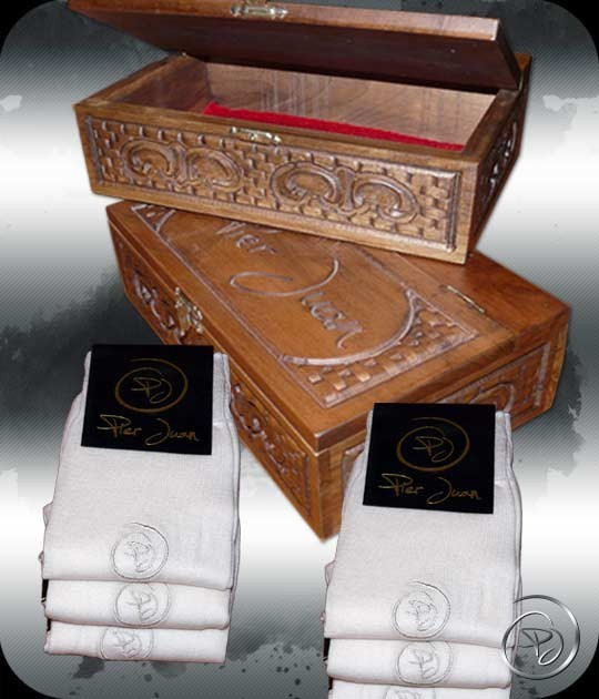 coffret cadeaux homme chaussettes pier juan haut de gamme en modal. Black Bedroom Furniture Sets. Home Design Ideas