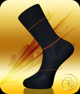Mercerized cotton socks for men