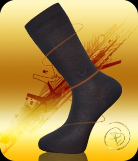 Man socks modal - embroidered PJ